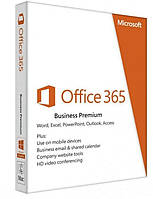 ПО Microsoft Office365 Business Premium 1 User 1 Year Subscription English Medialess (KLQ-00425)