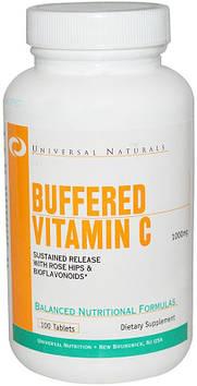 Buffered Vitamin C (100 tabs) Universal