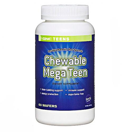 Chewable Mega Teen (60 wafers) GNC