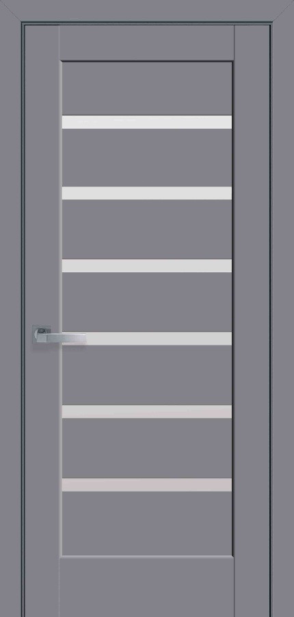 Двери Новый стиль Линнея ПО Антрацит