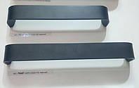 Ручка меблева профільна GIFF 1/232/160, 192 чорний