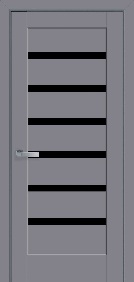 Двери Новый стиль Линнея BLK антрацит