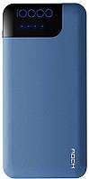 УМБ Rock Space P40 QC 3.0 Power Bank Type-c 10000 mAh Blue (6950290683503)