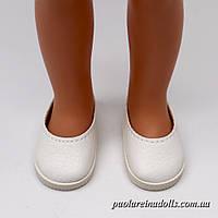 Балетки белые для кукол Паола Рейна