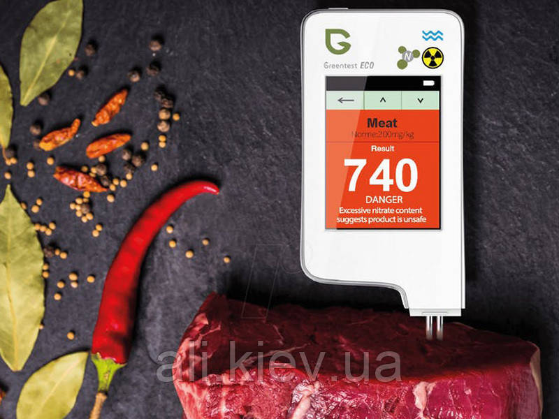 NEW! GreenTest ECO 5F Дозиметр, Измеритель жесткости воды Нитрат-Тестер Овощи Фрукты Мясо Рыба