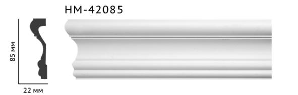 Молдинг для стен, гладкий, Classic Home HM-42085 , лепной декор из полиуретана