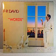 CD диск F.R.David - Words