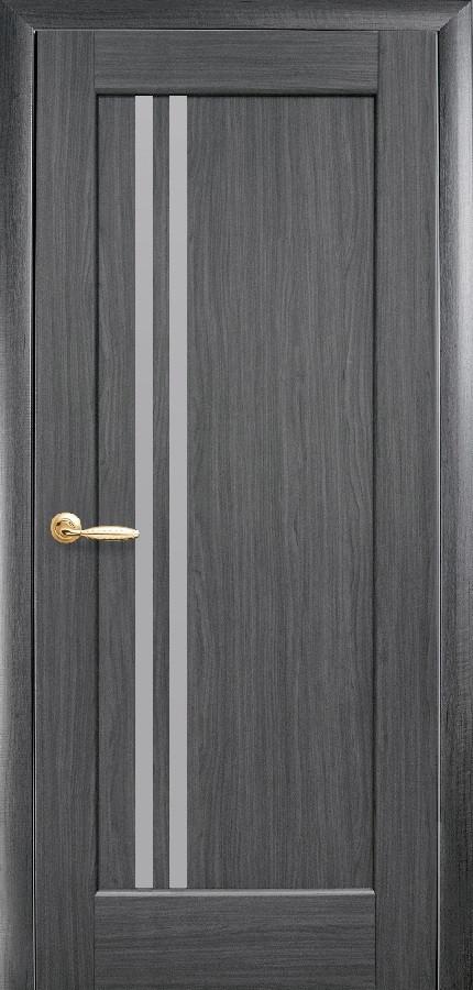 Двери Новый стиль Делла ПО грей New