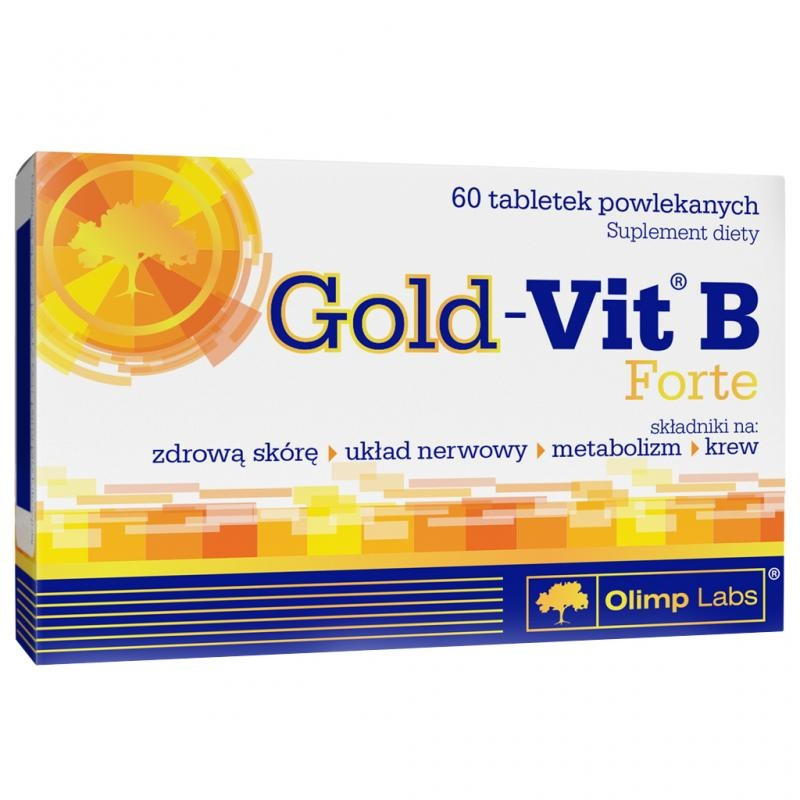 Gold-Vit B forte (60 tabs) OLIMP