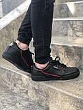 Чоловічі кросівки adidas Continental 80 (Адідас Континенталь 80) Чорні, фото 5
