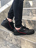 Мужские кроссовки adidas Continental 80 (Адидас Континенталь 80) Черные, фото 5