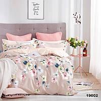 Евро постельное белье для девушек в розовом цвете Viluta ранфорс