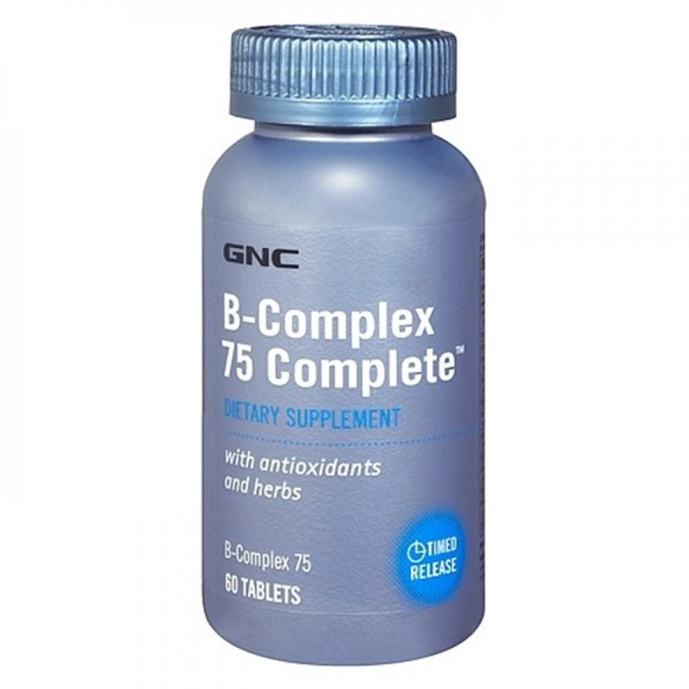 B-Complex 75 (60 caplets) GNC