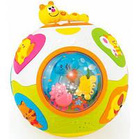 Hola Toys Интерактивная игрушка Hola Toys Счастливый мячик (938)