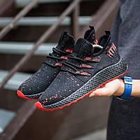 Мужские кроссовки (Вегас Фикс черные с красной подошвой)\\Обувь без бренда