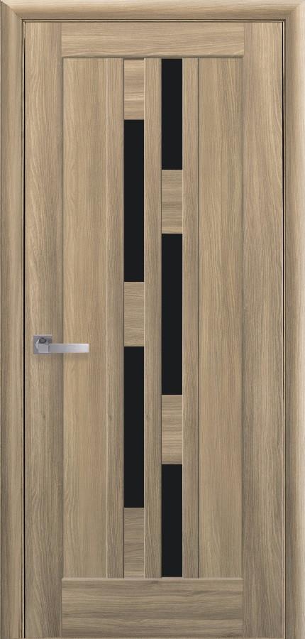 Двери Новый стиль Лаура BLK золотой дуб
