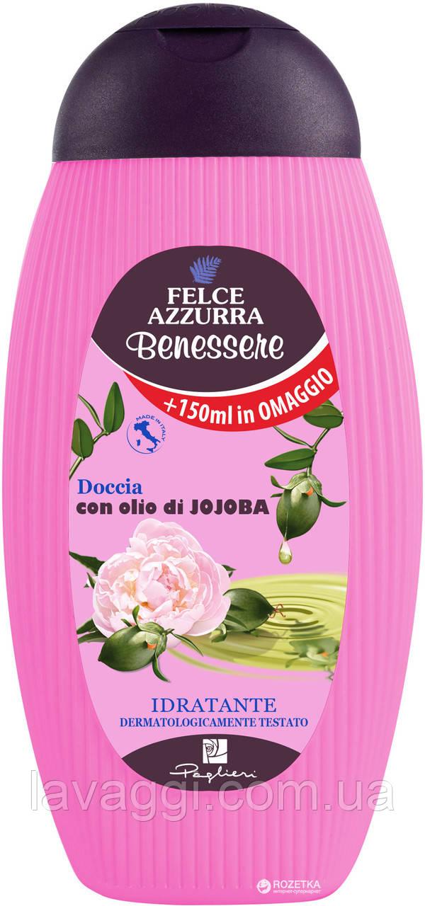 Гель для душа Felce Azzurra Benessere Idratante con olio di Jojoba 400 ml
