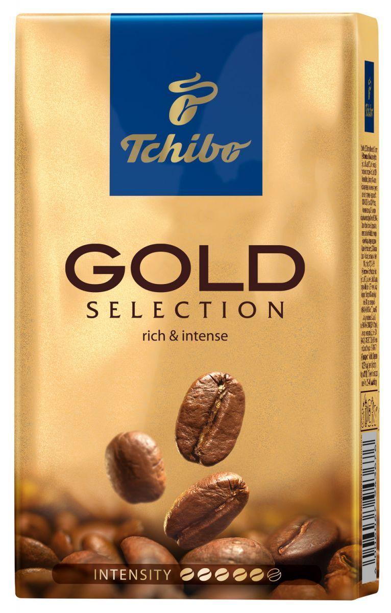 Кофе Tchibo Gold Selection (250г) молотый