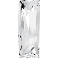 Стразы Сваровски Kaputt Baguette Fancy Stone 4925 Crystal 29x11,5 mm