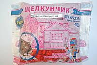 Родентицид Препарат Яд Средство для борьбы с мышами и крысами Щелкунчик профи-продукт кукуруза, 400 г