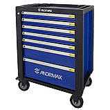 Візок 6 полиць з набором інструменту 230 предметів ANDRMAX, фото 2