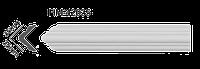 Молдинг для стен, гладкий, Classic Home HM-42035 , лепной декор из полиуретана