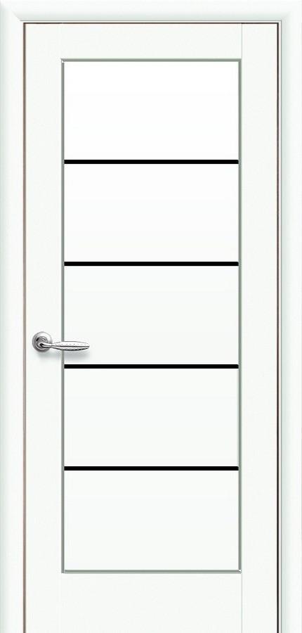 Двери Новый стиль Мира BLK Белый матовый