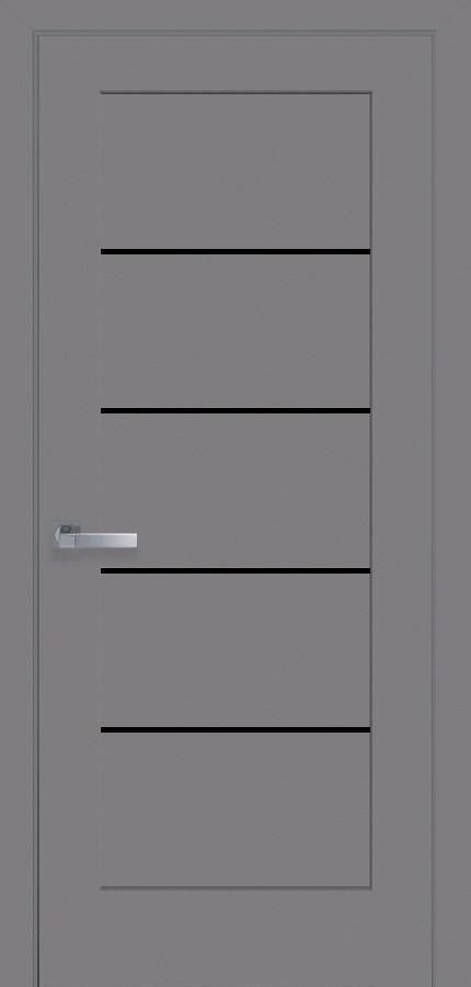 Двери Новый стиль Мира BLK антрацит