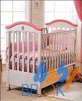 """Ліжко дитяче тм""""Geoby"""" деревяне MC801"""