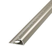 Наружный алюминиевый уголок для плитки НАП 12 2.7 м.