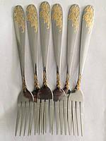 Вилка столовая золотистая 552-BLV-11