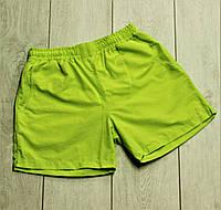 Пляжные шорти  мужские летние шорты салатовые. Живое фото, фото 1