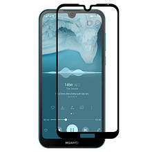 Защитное стекло OP Full cover для Huawei Honor 8a черный