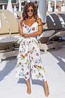 Комбинезон женский стильный. Разные расцветки и принты, фото 1