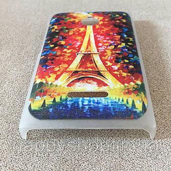 Пластиковый чехол для Nokia Lumia 435/532 (Paris), фото 2