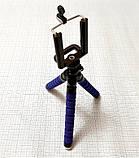 Штатив (тренога) мини для смартфонов и фотоаппаратор, гибкие ножки, фото 3