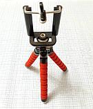 Штатив (тренога) мини для смартфонов и фотоаппаратор, гибкие ножки, фото 4