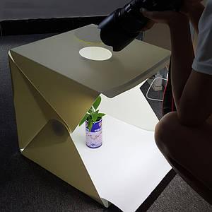 Лайтбокс, фотобокс, 40Х40см. с LED подсветкой для предметной с съемки