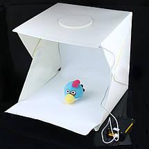 Лайтбокс, фотобокс, 40Х40см. с LED подсветкой для предметной с съемки, фото 2