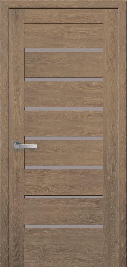 Двери межкомнатные Новый стиль Леона ПО Дуб медовый