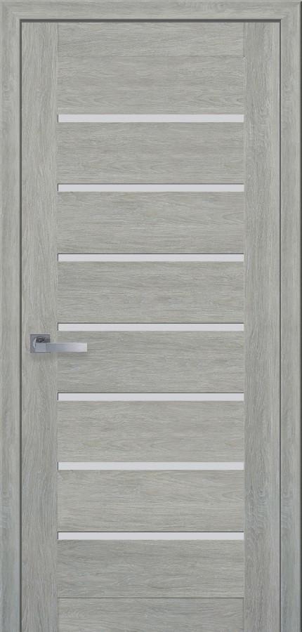 Двери межкомнатные Новый стиль Леона ПО Дуб дымчатый