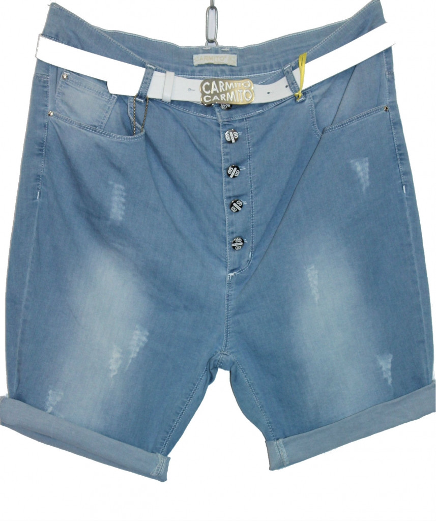 Турецкие женские джинсовые шорты, 50-56