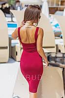 Платье-майка женское обтягивающее, фото 1