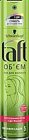 """Лак для волос """"Объем"""" для мегафиксации Taft - 250мл"""