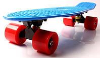 "Скейт Penny Board 22 ""Fish"" Синий цвет  (Пенни борд), фото 1"