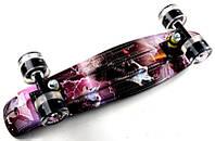 """Скейт Penny Board """"Wolf"""" 2 in1 Светящиеся колеса. (Пенни борд), фото 1"""