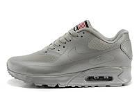 Мужские кроссовки Nike Air Max 90 Hyperfuse Ash Grey Usa размер 45 UaDrop115291-45, КОД: 239726