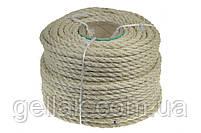 Веревка для котов Ø 6 мм (20 метров)  Канат сизалевый для когтеточки  Мотузка для декору  Турція, фото 2