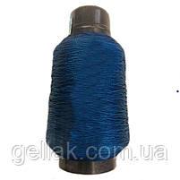 цветная 375 текс 300 грамм синяя нить для прошивки обуви 0.75 мм, фото 2