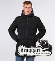 Braggart Aggressive 29077 | Мужская зимняя куртка черная, фото 1